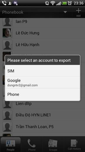 Cách đơn giản để sao lưu danh bạ trên điện thoại Smartphone Image006